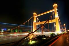 Γέφυρα τη νύχτα σε Guilin, Quangxi, Κίνα στοκ φωτογραφίες