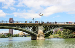 Γέφυρα του Άιφελ Στοκ Εικόνα