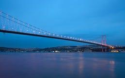 Γέφυρα του Βοσπόρου Στοκ Φωτογραφία
