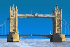 Γέφυρα του Λονδίνου διανυσματική απεικόνιση