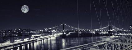 Γέφυρα του Μανχάτταν Στοκ Εικόνες