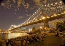 Γέφυρα του Μανχάτταν στοκ εικόνα