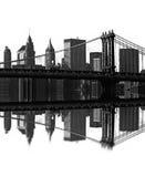 Γέφυρα του Μπρούκλιν, Νέα Υόρκη, ΗΠΑ Στοκ Εικόνες