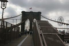 Γέφυρα του Μπρούκλιν Νέα Υόρκη στοκ φωτογραφίες