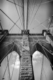 Γέφυρα του Μπρούκλιν πόλεων της Νέας Υόρκης Στοκ φωτογραφία με δικαίωμα ελεύθερης χρήσης