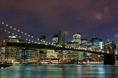 Γέφυρα του Μπρούκλιν Στοκ Εικόνα