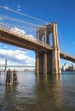 Γέφυρα του Μπρούκλιν στοκ εικόνα με δικαίωμα ελεύθερης χρήσης