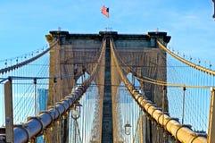 Γέφυρα του Μπρούκλιν Simetry Στοκ εικόνα με δικαίωμα ελεύθερης χρήσης
