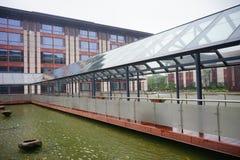 Γέφυρα του ξενοδοχείου Wujiang στοκ εικόνες