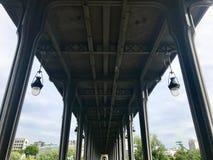 Γέφυρα του Παρισιού Στοκ εικόνες με δικαίωμα ελεύθερης χρήσης