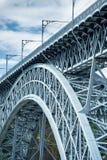 Γέφυρα του Πόρτο, DOM Luis στοκ φωτογραφία με δικαίωμα ελεύθερης χρήσης
