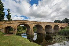 Γέφυρα του Ρίτσμοντ στο Ρίτσμοντ Τασμανία στοκ φωτογραφίες