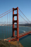 Γέφυρα του Σαν Φρανσίσκο Στοκ φωτογραφία με δικαίωμα ελεύθερης χρήσης