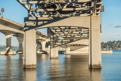 Γέφυρα 6 του Σιάτλ στοκ φωτογραφίες με δικαίωμα ελεύθερης χρήσης
