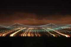 Γέφυρα του φωτός Στοκ Εικόνες