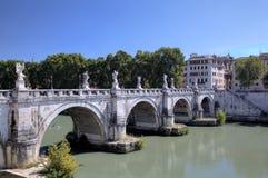 Γέφυρα του Angelo Sant. Ρώμη (Ρώμη), Ιταλία Στοκ Εικόνες