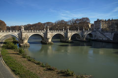 γέφυρα του Angelo sant Ρώμη Ρώμη, Ιταλία Στοκ φωτογραφία με δικαίωμα ελεύθερης χρήσης
