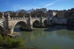 γέφυρα του Angelo sant Ρώμη Ρώμη, Ιταλία Στοκ φωτογραφίες με δικαίωμα ελεύθερης χρήσης