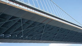 Γέφυρα του Benjamin Franklin στη Φιλαδέλφεια Στοκ Φωτογραφίες