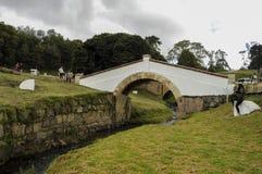 Γέφυρα του boyaca στοκ εικόνες με δικαίωμα ελεύθερης χρήσης