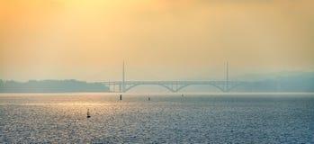 Γέφυρα του Brest Στοκ Φωτογραφίες