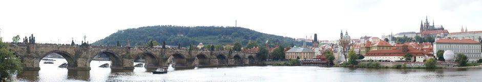 Γέφυρα του Carlo στην Πράγα Στοκ εικόνες με δικαίωμα ελεύθερης χρήσης
