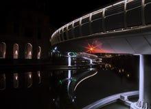 Γέφυρα του Castle στην προσιτότητα Finzels στο κέντρο της πόλης του Μπρίστολ στοκ εικόνα