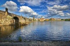 Γέφυρα του Charles, Πράγα Στοκ Εικόνες