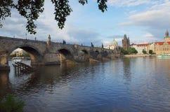 Γέφυρα του Charles, Πράγα Στοκ εικόνες με δικαίωμα ελεύθερης χρήσης