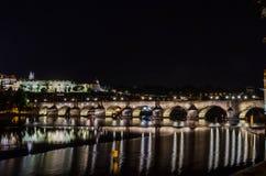 Γέφυρα του Charles, Πράγα, CZ Στοκ φωτογραφία με δικαίωμα ελεύθερης χρήσης