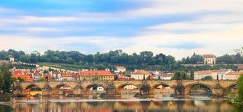 Γέφυρα του Charles Στοκ Φωτογραφία