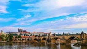 Γέφυρα του Charles Στοκ εικόνες με δικαίωμα ελεύθερης χρήσης