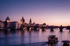 Γέφυρα του Charles Στοκ Φωτογραφίες