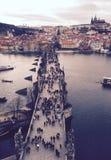 Γέφυρα του Charles Στοκ εικόνα με δικαίωμα ελεύθερης χρήσης