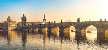 Γέφυρα του Charles Στοκ φωτογραφία με δικαίωμα ελεύθερης χρήσης