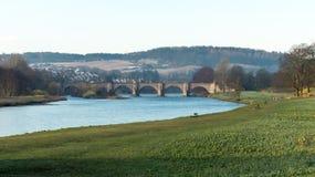 Γέφυρα του dee, Αμπερντήν, Σκωτία στοκ φωτογραφίες