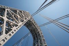 Γέφυρα του George Washington, ΗΠΑ Στοκ Φωτογραφίες