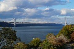Γέφυρα του George Washington, πόλη της Νέας Υόρκης στοκ εικόνα με δικαίωμα ελεύθερης χρήσης