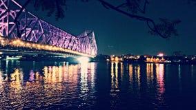 Γέφυρα του Howrah Στοκ Φωτογραφία