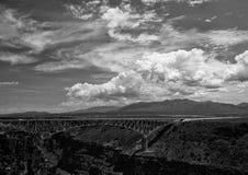 Γέφυρα του Rio Grande George Στοκ Εικόνες