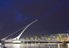 Γέφυρα του Samuel Beckett, Δουβλίνο Στοκ φωτογραφίες με δικαίωμα ελεύθερης χρήσης