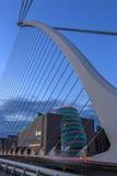 Γέφυρα του Samuel Beckett - Δουβλίνο - Ιρλανδία Στοκ φωτογραφία με δικαίωμα ελεύθερης χρήσης