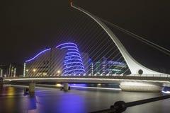 Γέφυρα του Samuel Beckett στο Δουβλίνο Στοκ Εικόνες