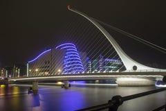Γέφυρα του Samuel Beckett στο Δουβλίνο Στοκ φωτογραφίες με δικαίωμα ελεύθερης χρήσης