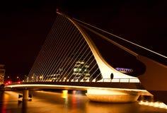 Γέφυρα του Samuel Beckett στοκ φωτογραφία με δικαίωμα ελεύθερης χρήσης
