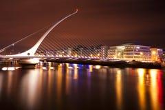 Γέφυρα του Samuel Beckett Στοκ εικόνες με δικαίωμα ελεύθερης χρήσης