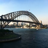 Γέφυρα του Sidney Στοκ Εικόνες