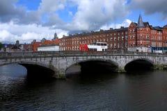 Γέφυρα του ST Πάτρικ ` s, πόλη του Κορκ, Ιρλανδία Στοκ εικόνα με δικαίωμα ελεύθερης χρήσης