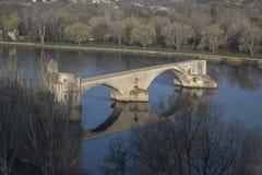 Γέφυρα του ST Benezet, Αβινιόν Στοκ εικόνες με δικαίωμα ελεύθερης χρήσης