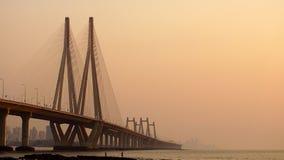 Γέφυρα το βράδυ Στοκ Φωτογραφίες